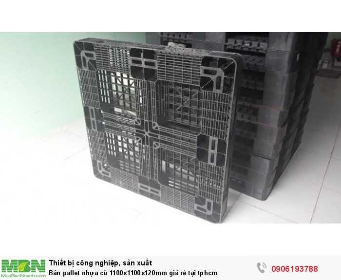Mua pallet nhựa cũ 1100x1100x120mm giá rẻ tại tphcm - GỌI 0906193788 (Ms Dung 24/24)