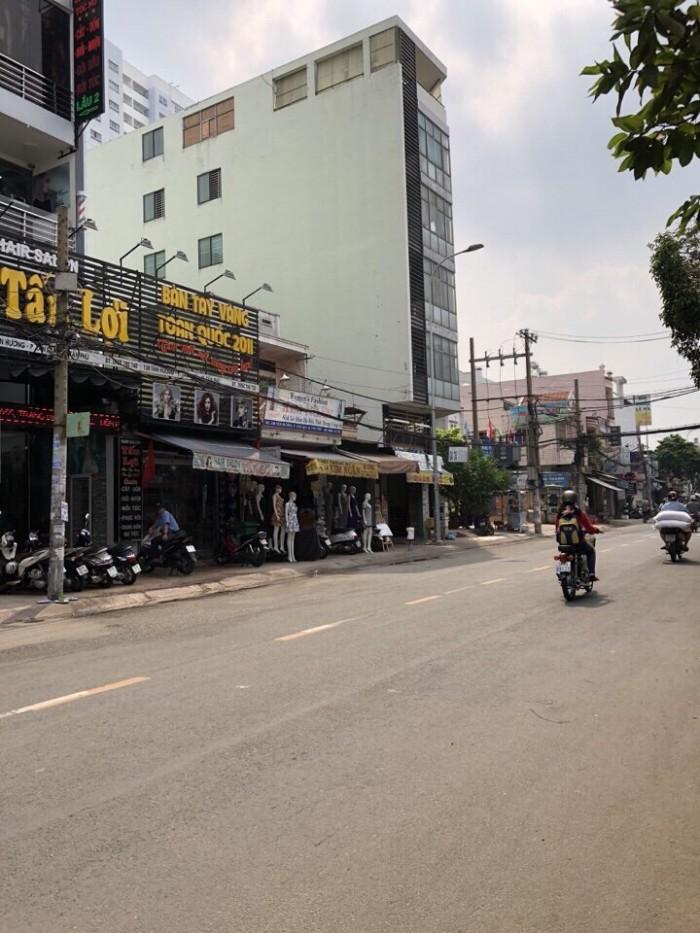 Cho thuê tòa nhà 2MT đường Tân Hương 7x21m 6 lầu có thang máy