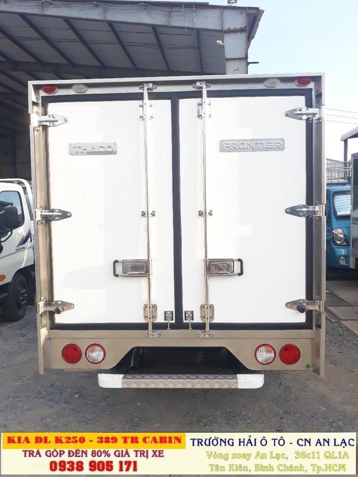 Xe Tải Đông Lạnh K250 Thùng Bảo Ôn, Thùng Kín, Kia K250 Giao Xe Có Liền