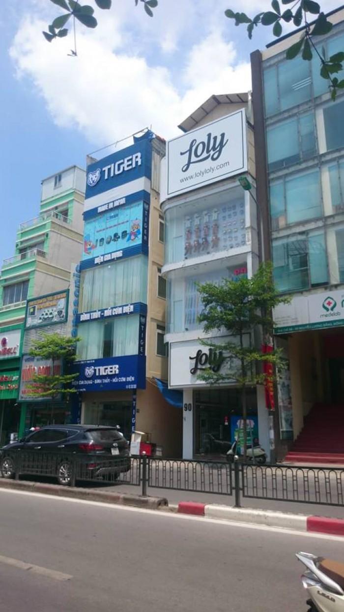 Bán Nhà Mặt Phố Nguyễn Hoàng,diện Tích 83M,xây 4.5 Tầng,mặt Tiền 4M,vỉa Hè Rộng
