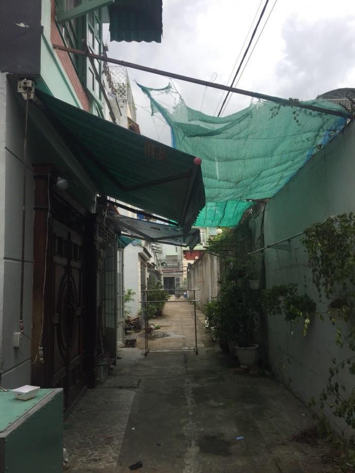 Bán nhà khu bên sông Phạm Văn Đồng đường 19 Hiệp Bình Chánh