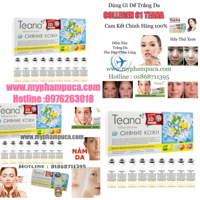 Collagen Tươi Teana - Serum Tươi Collagen Teana C1