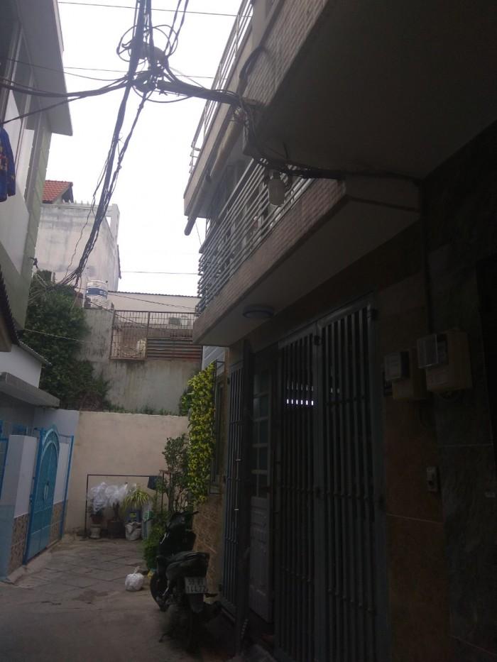 Bán nhà hẽm ba gác 48m2, 2 tầng 4,5 tỷ Hoàng Hoa Thám, Phú Nhuận