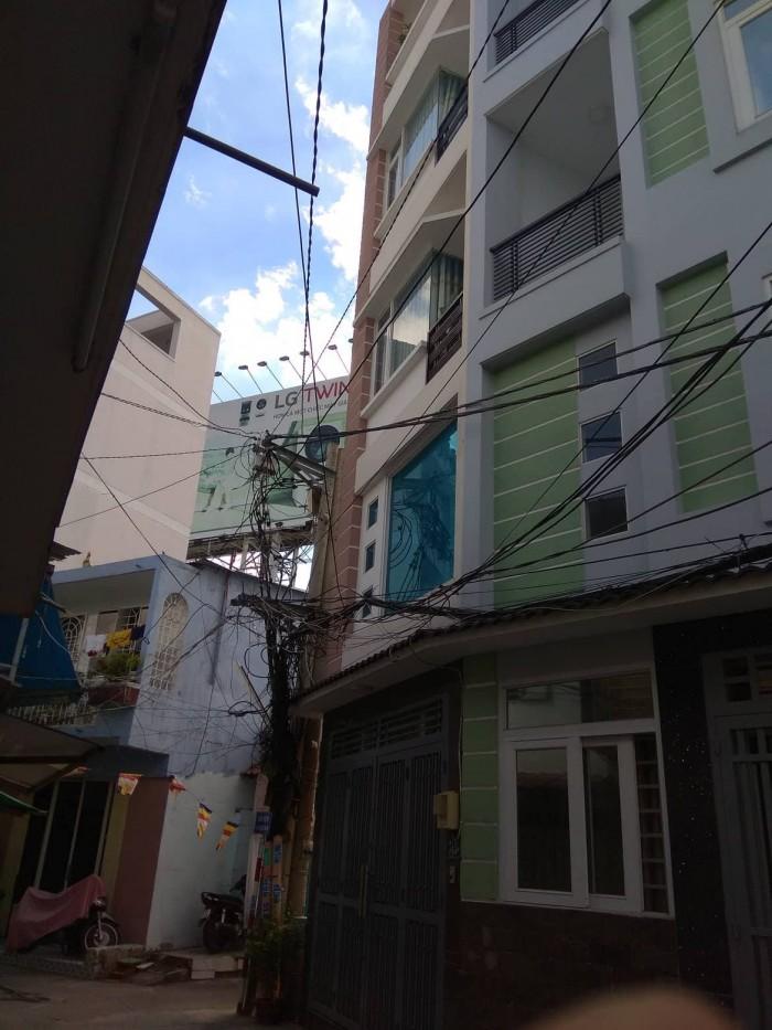 Nhà vip Phú Nhuận lô gốc HXH 5 tâng,40m2