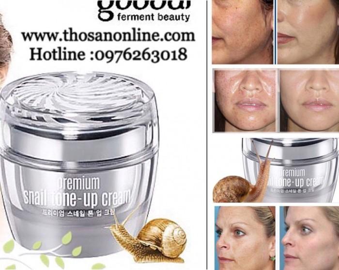 Kem Ốc Sên Goodal Premium Snail Tone Up Cream
