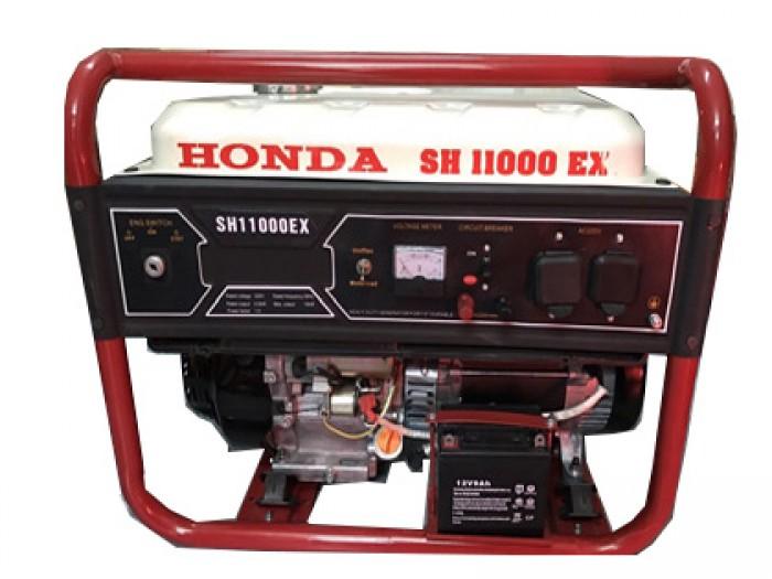Máy phát điện honda SH 11000 le gió tự động AVR5