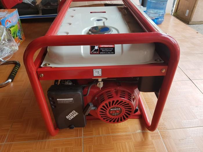 Máy phát điện honda SH 11000 le gió tự động AVR4
