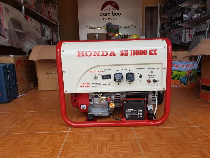 Máy phát điện honda SH 11000 le gió tự động AVR3