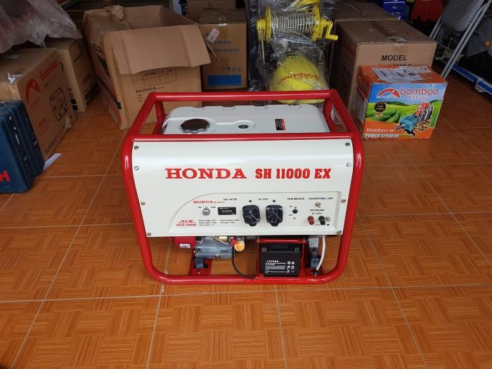 Máy phát điện honda SH 11000 le gió tự động AVR0