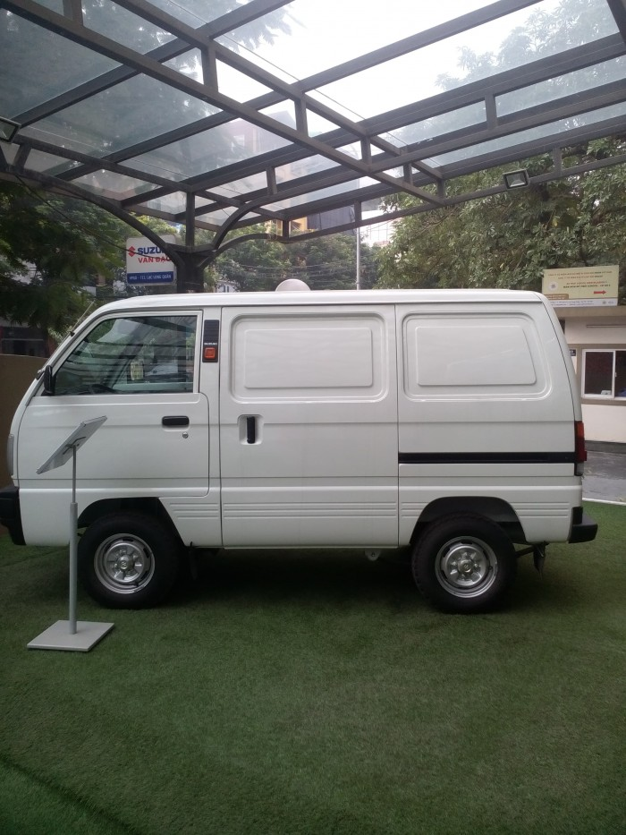 Bán Suzuki Blind Van, su tải van 2018, khuyến mại thuế trước bạ, giá bán kịch sàn.