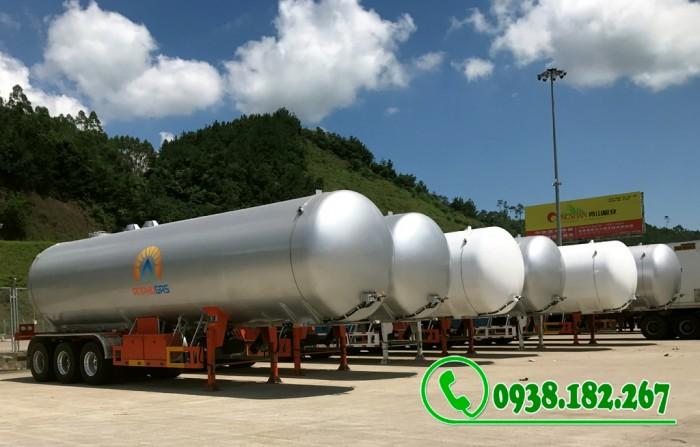 Rơ mooc Chở Khí Gas LPG 52 khối nhập nguyên chiếc 3