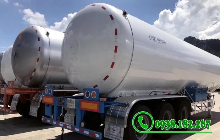 Rơ mooc Chở Khí Gas LPG 52 khối nhập nguyên chiếc 1