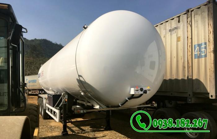 Rơ mooc Chở Khí Gas LPG 52 khối nhập nguyên chiếc 0