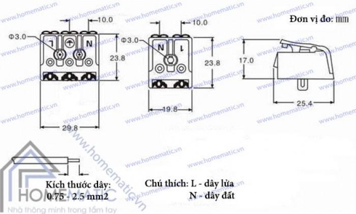 Cút nối dây điện không cần nối dây, đa dụng, an toàn2