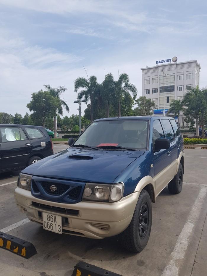 Nissan Terrano 2000, máy dầu 2.7 Turbo, 2 cầu