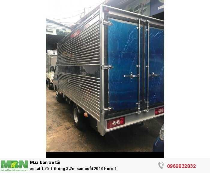 xe tải 1,25 T thùng 3,2m sản xuất 2018 Euro 4