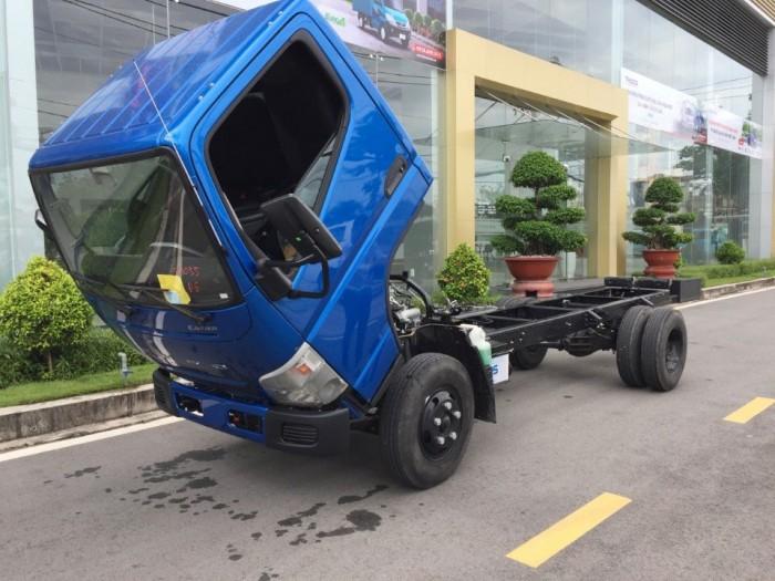 Bán xe tải nhật bản Mitsubishi Canter 4.99 tải trọng 2 tấn 2, đời 2018.