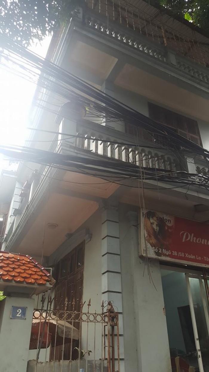 Bán biệt thự phố Xuân La 163 m2, 3 tầng, MT 8m