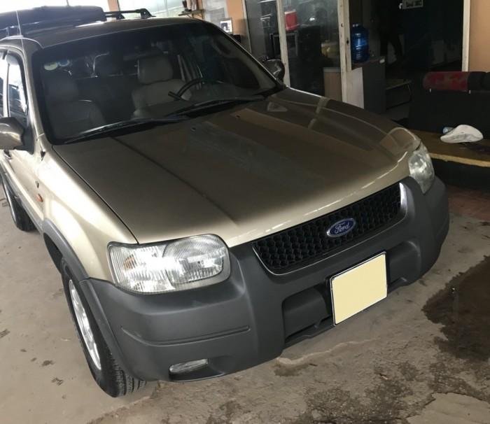 Bán em Ford Escape XLT 2003 màu vàng cát đẹp leng keng 2