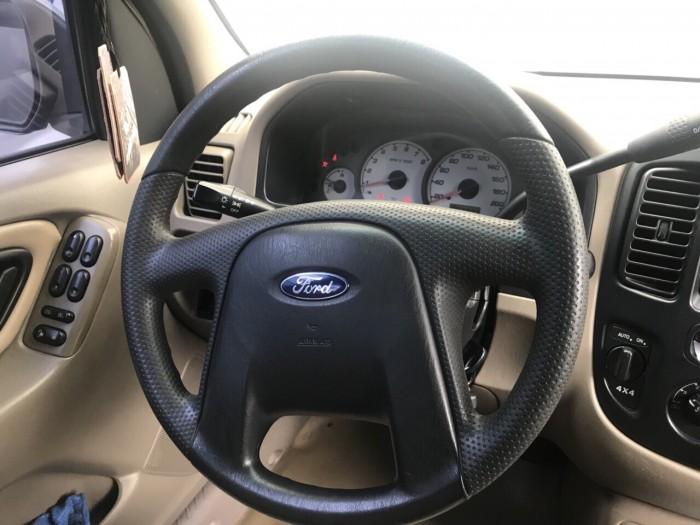 Bán em Ford Escape XLT 2003 màu vàng cát đẹp leng keng 3