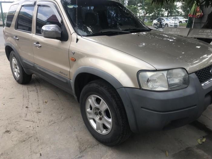 Bán em Ford Escape XLT 2003 màu vàng cát đẹp leng keng 4