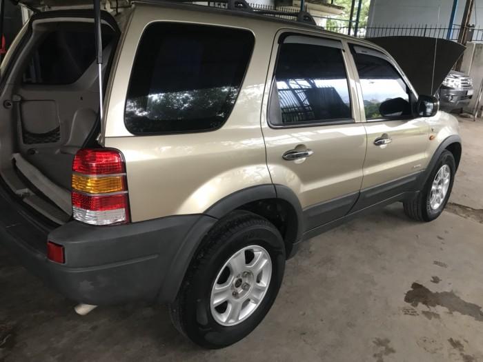 Bán em Ford Escape XLT 2003 màu vàng cát đẹp leng keng