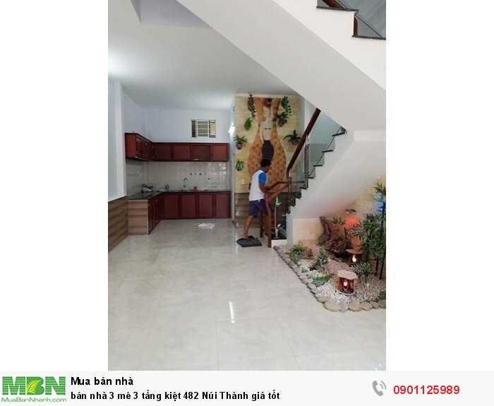 bán nhà 3 mê 3 tầng kiệt 482 Núi Thành giá tốt