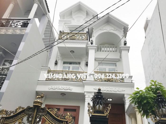 Bán nhà mới đẹp đường Nguyễn Oanh, 85m2, 3 lầu.