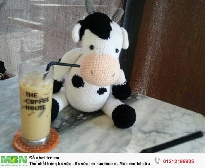 Thú nhồi bông bò sữa2