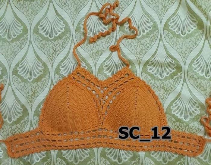 Áo bikini len đi biển - Bán bikini len - SC_120