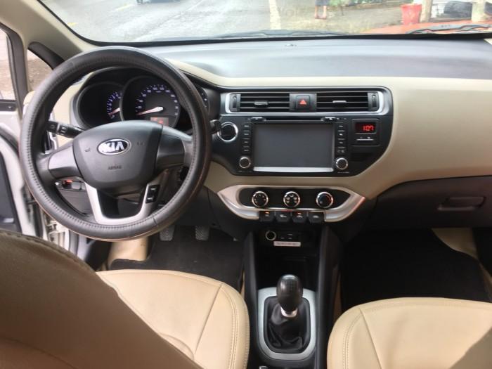 Kia Rio 1.4MT sedan sx 2015 siêu mới xe biển tỉnh hồ sơ rút nhanh gọn.