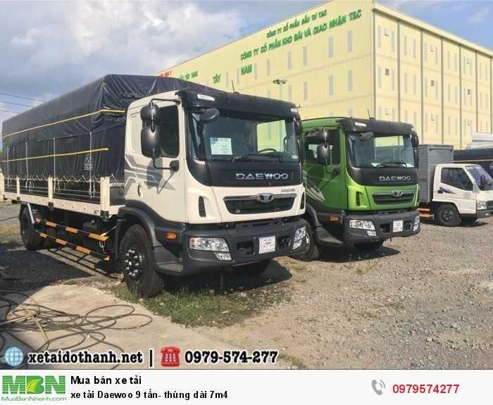 Xe tải Daewoo 9 tấn- thùng dài 7m4