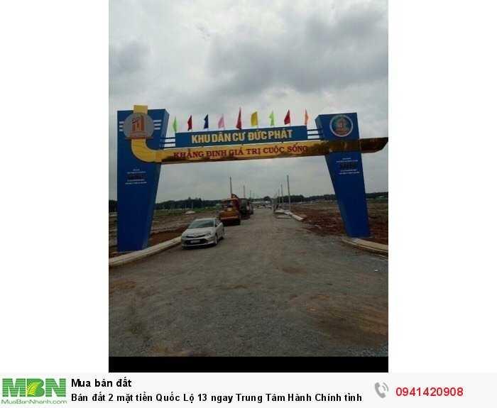 Bán đất 2 mặt tiền Quốc Lộ 13 ngay Trung Tâm Hành Chính tỉnh Bình Dương