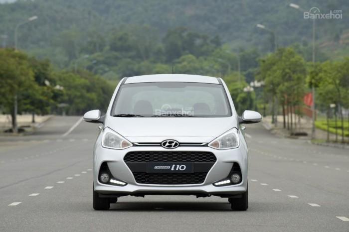 Hyundai Bình Dương - Hyundai Grand i10 1.2AT CKD 2018, giá cực tốt, hỗ trợ trả góp 80%