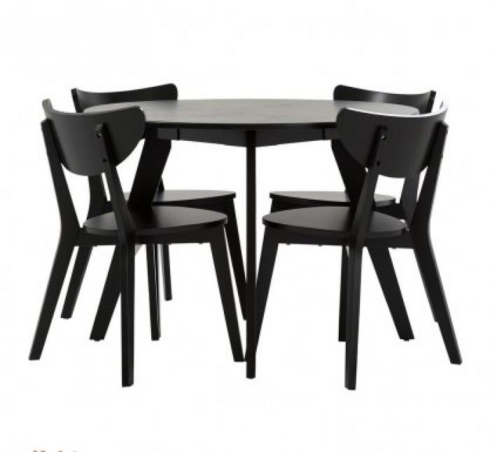 Bộ bàn ghế ăn mangho