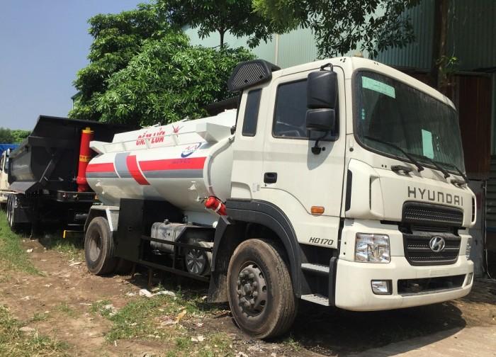Xe Xitec chở xăng dầu và mooc xăng dầu 3