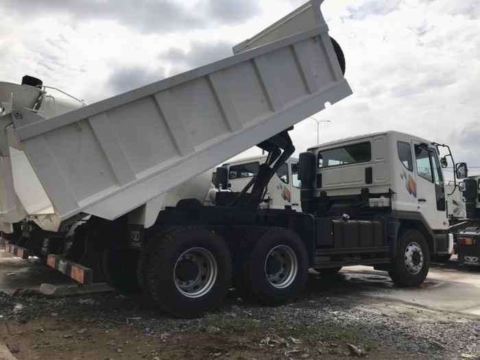 Xe tải Ben Daewoo 15 tấn - Hyundai Vũ Hùng cam kết giá xe tải rẻ nhất miền Nam