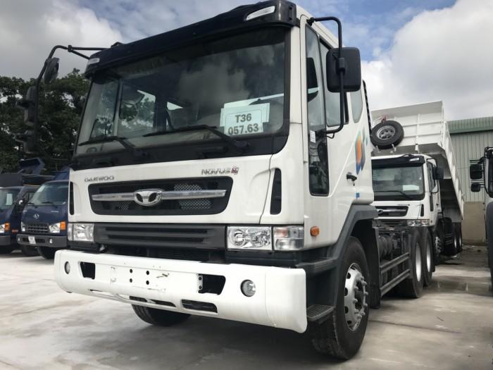 Xe đầu kéo Daewoo 40 tấn - Hyundai Vũ Hùng cam kết giá xe tải rẻ nhất miền Nam - GỌI 0933638116 (Mr Hùng 24/24)