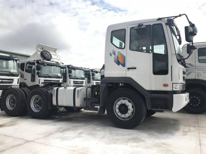 Mua xe đầu kéo Daewoo 40 tấn trả góp lãi suất thấp - Hyundai Vũ Hùng cam kết giá xe tải rẻ nhất miền Nam - GỌI 0933638116 (Mr Hùng 24/24)