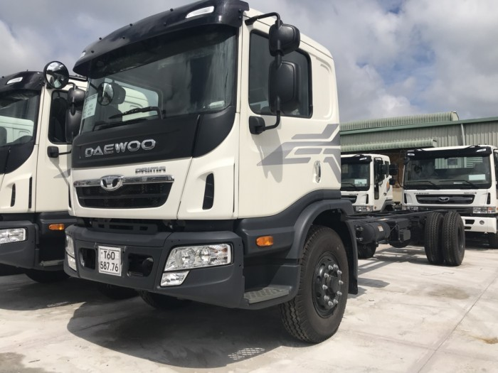 Khuyến mãi mua xe tải Daewoo 9 tấn, trả trước 200 triệu, đóng thùng theo yêu cầu...