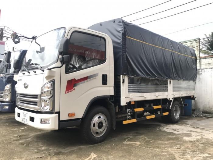Khuyến mãi mua xe tải Daehan Teraco Tera 240 2.4 tấn, đóng thùng theo yêu cầu - Hyundai Vũ Hùng cam kết giá xe tải rẻ nhất miền Nam - GỌI 0933638116 (Mr Hùng 24/24)