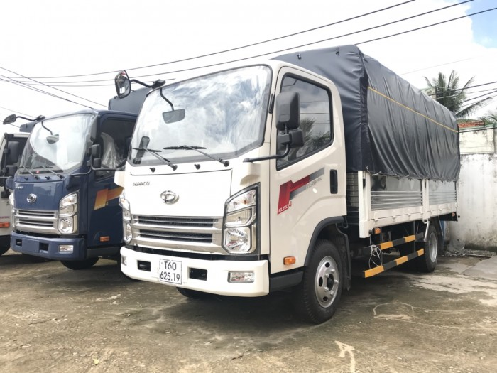Mua xe tải Daehan Teraco Tera 240 2.4 tấn, đóng thùng theo yêu cầu - Hyundai Vũ Hùng cam kết giá xe tải rẻ nhất miền Nam - GỌI 0933638116 (Mr Hùng 24/24)