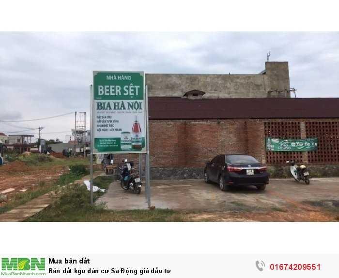 Bán đất khu dân cư Sa Động giá đầu tư