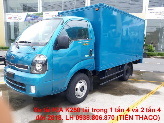 Kia K250 sản xuất năm 2018 Số tay (số sàn) Xe tải động cơ Dầu diesel