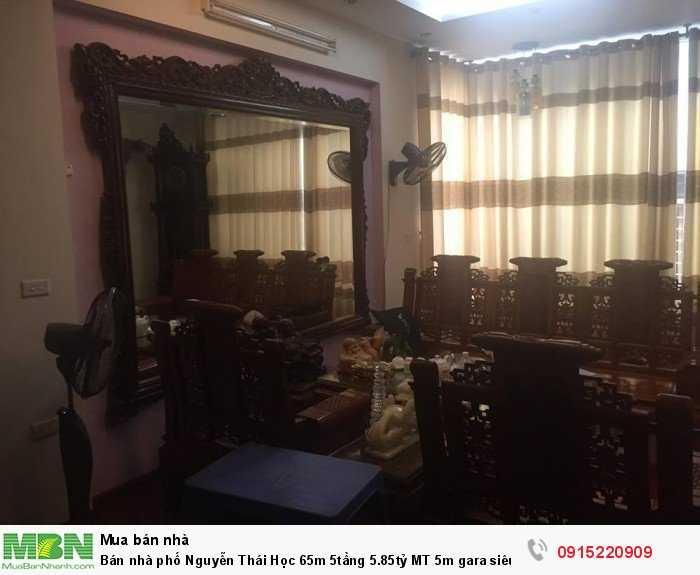 Bán nhà phố Nguyễn Thái Học 65m 5tầng 5.85tỷ MT 5m gara siêu hiếm rẻ