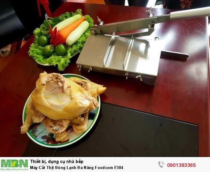 Máy Thái Thịt, Cắt Xương Đa Năng Foodcom F304