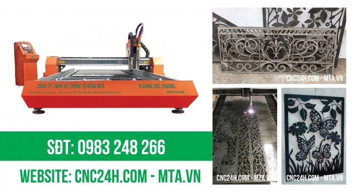 Máy cắt Plasma CNC giá rẻ tại Vĩnh Phúc