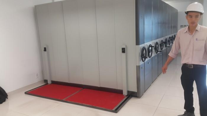 Steel Design VN - Tủ hồ sơ di động ; tủ sắt văn phòng, tủ sơn tĩnh điện2