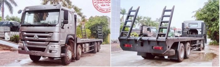 Bán Xe phooc nâng đầu chở máy công trình