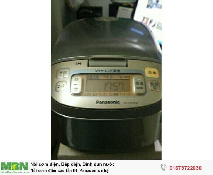 Nồi cơm điện cao tần IH. Panasonic nhật4